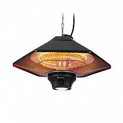 Blumfeldt Heat Hexa, infračervený ohřívač, 800 / 1200 / 2000 W, halogen, IP34, LED, černý