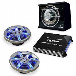 Electronic-Star Auto hi-fi set BeatPilot FX-211, reproduktory, zesilovač